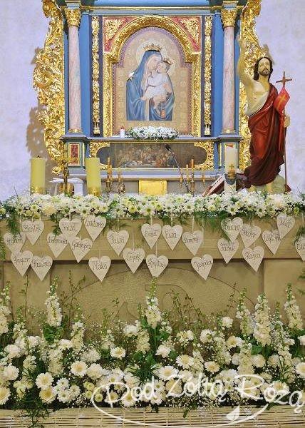 Blog Kwiaciarni Pod żółtą Różą Dekoracja Kościoła
